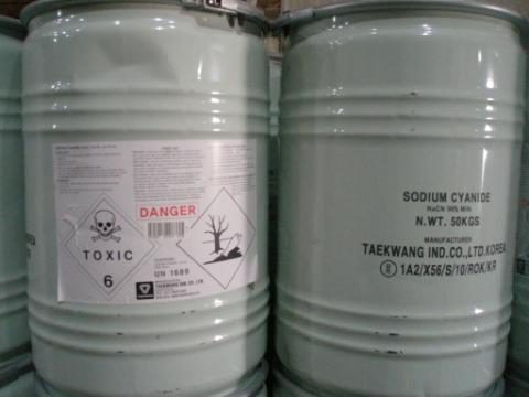 sodium cyanide